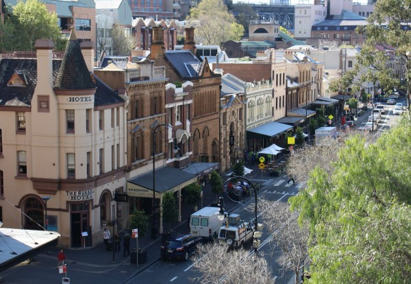 Sydney Hotels in the Rocks The Russell Hotel