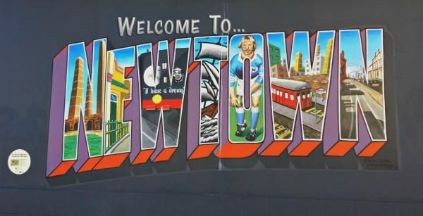 Welcome to Newtown self-guided street art walk Sydney Australia