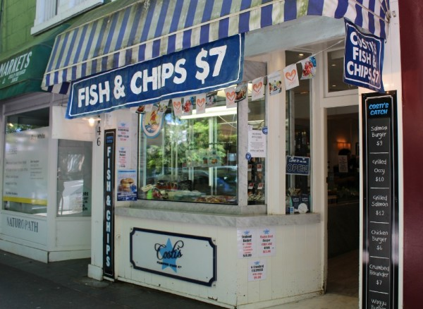 Queen St Woollahra fish and chips