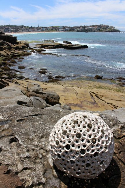 Sculpture by the Sea 2015 white ball