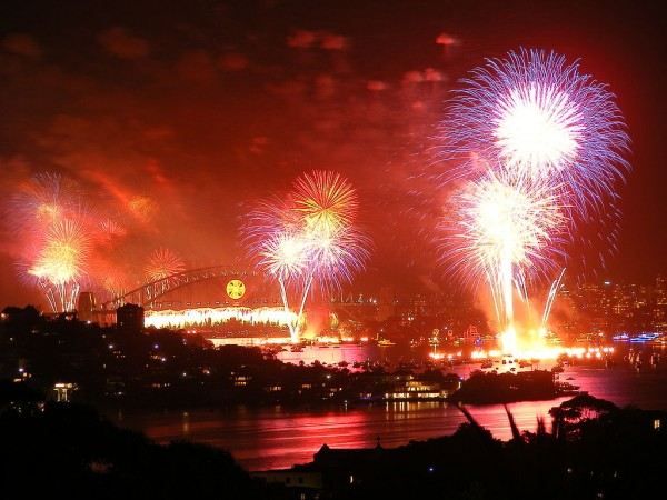 By Adam.J.W.C. via Wikimedia Common New Years Eve in Sydney