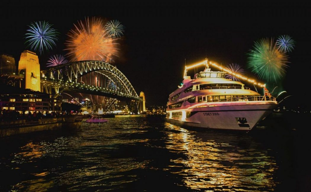 NYE Harbour Cruise Captain Cook