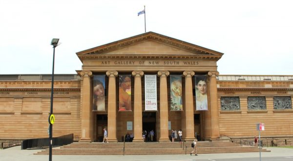 Self-guided walk Sydney - Art gallery NSW