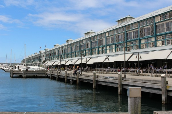 Wooloomooloo wharf see sydney by bus on the 311