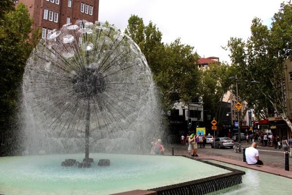 Fountain Kings Cross walk