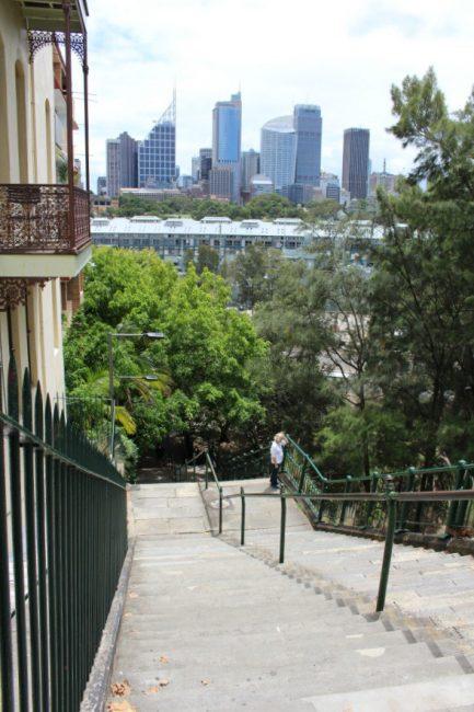 Woolloomooloo stairs