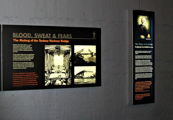 Sydney Harbour Pylon lookout museum facts