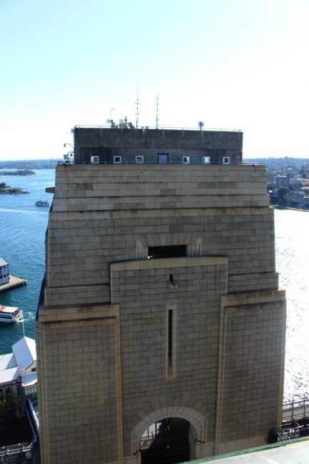 Sydney Harbour Pylon lookout