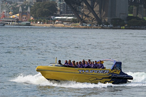 Explore Sydney Harbour on a Jetboat ride