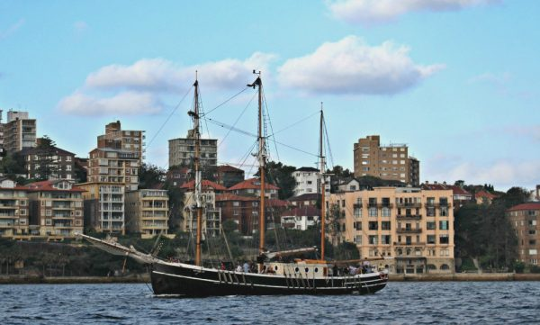 Sydney Harbour Tour on a tallship