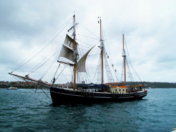 Explore Sydney Harbour by TallShip