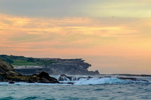 Coogee Beach is a lovely spot to watch the sunrise