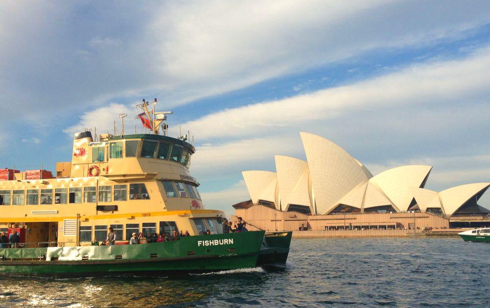 Sydney Ferry Fishburn Opera House