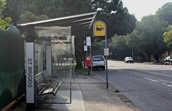 St Bridgets bus stop 325