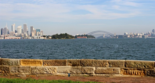 View from Duff Reserve in Vaulcluse