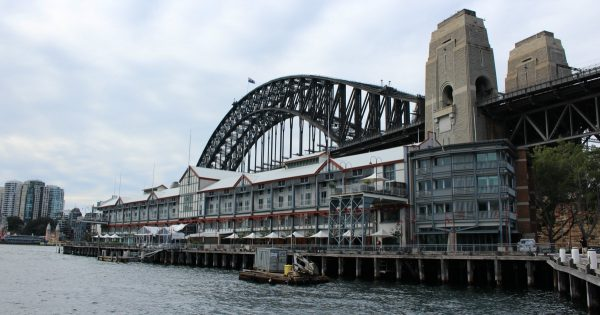 Walsh Bay in Winter