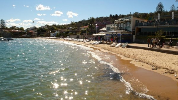 Watsons Bay with Doyles in the background