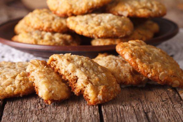 Australian Anzac biscuit
