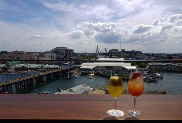View from the Rooftop Bar Hyatt Regency Hotel Zephyr