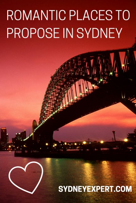 If you are in Sydney and thinking that perhaps it's time to pop the question then we have a list of fantastic romantic ideas to help you create the perfect proposal setting.  #Sydney #Australia #Romance