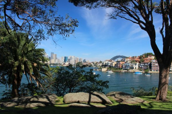 This view of the city from Cremorne