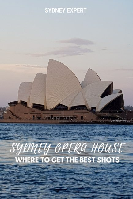 The Best Places to take photos of the Sydney Opera House