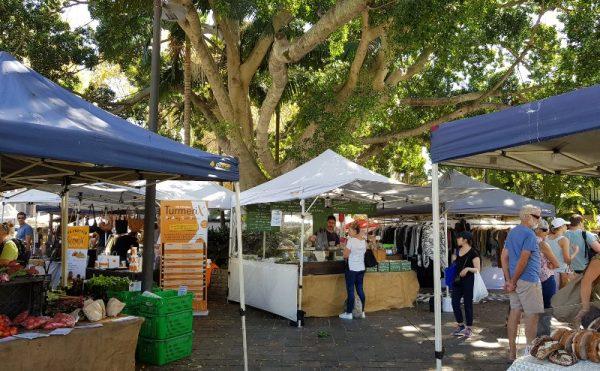 Kings Cross market Sydney weekends