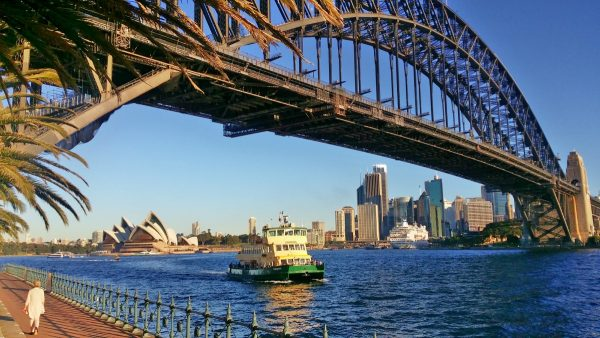photo of the Sydney Opera House from Milsons Point