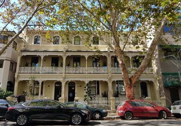 Victoria Street Potts Point Hotel