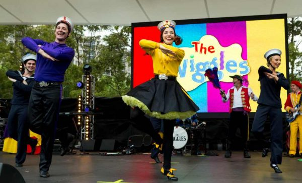 THe Wiggles Darling Harbour Australia day