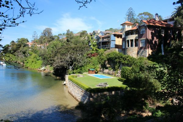 Mosman waterfront home with pool