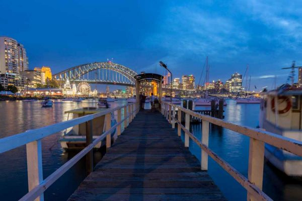 North Sydney Harbour views