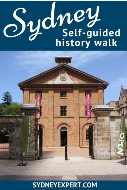 Learn more about this history of Sydney on this self-guided walk through central Sydney down to the harbour. #Australia #Sydney