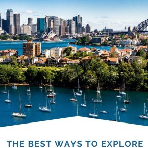 Sydney Harbour cruise ideas
