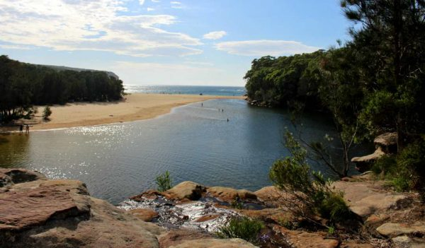 Wattamalla Beach - a detour on the Grand Pacific drive