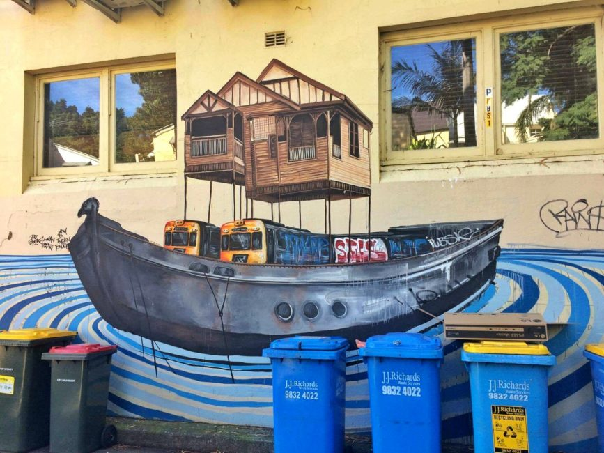 Fintan Magee Brisbane Flood Refugee Boat