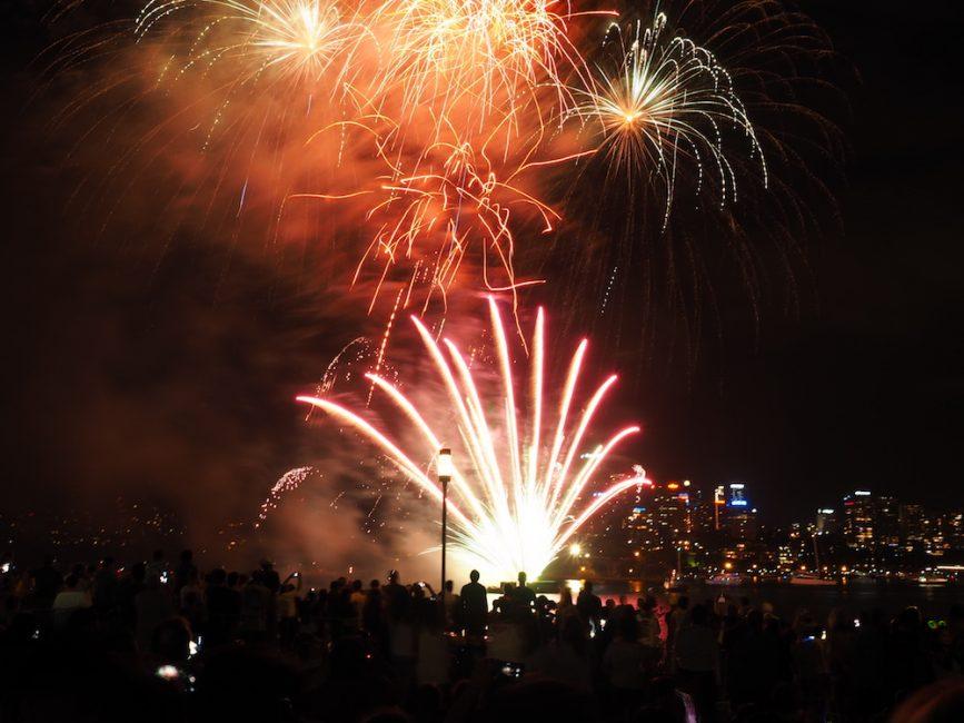 NYE Fireworks Sydney from Barangaroo by Tara Marlow - Travel Far Enough