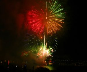 Goat Island Fireworks by Lyn Lindfield