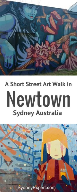 2 hour Newtown street art walk