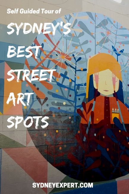 This Newtown Street art walk (with map) is perfect for anyone with limited time who wants to check out some of the newest murals in the area.  There is also some pretty great food to sample along the way!