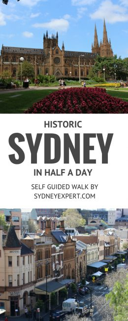 Historic Sydney Self Guided Walk