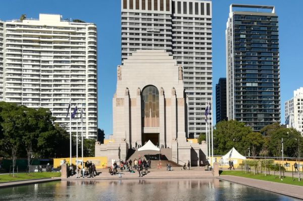 The ANZAC memorial in Hyde Park