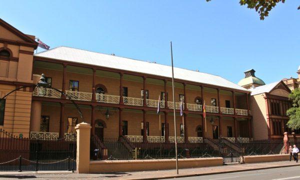 Sydney History Walk Parliament Houes