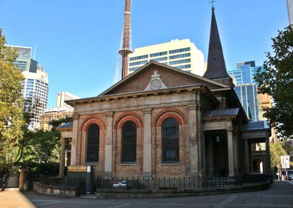 St James Church Sydney