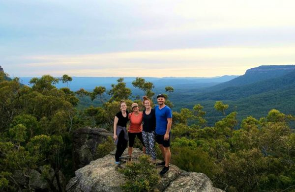 Blue Mountains overnight hikes Australia