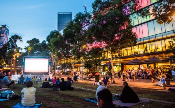 Darling Harbour Outdoor Cinema