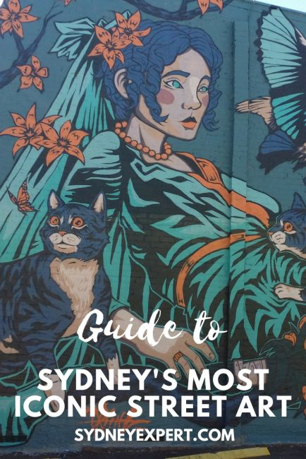If you like Street Art, you will love this self-guided Inner West Sydney Street art walk through St Peters, Enmore, and Newtown.  A word of warning, this is not a short walk, the whole thing will take you a good half day or longer if you stop for eats. #Sydney #Australia
