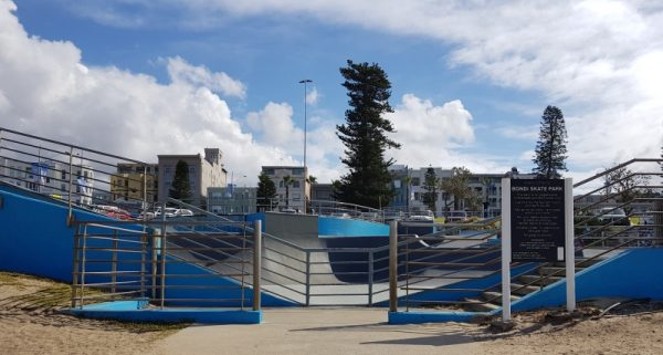 Skate Park at Bondi Beach