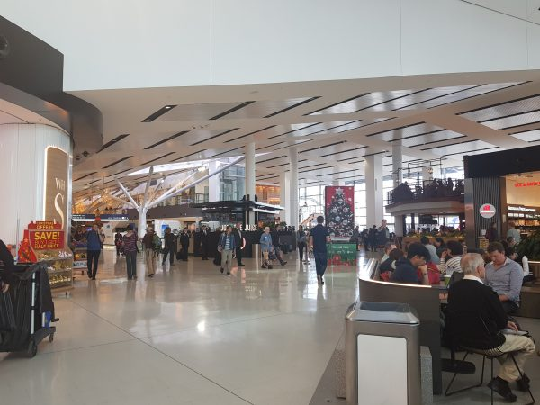 Shopping at Sydney airport