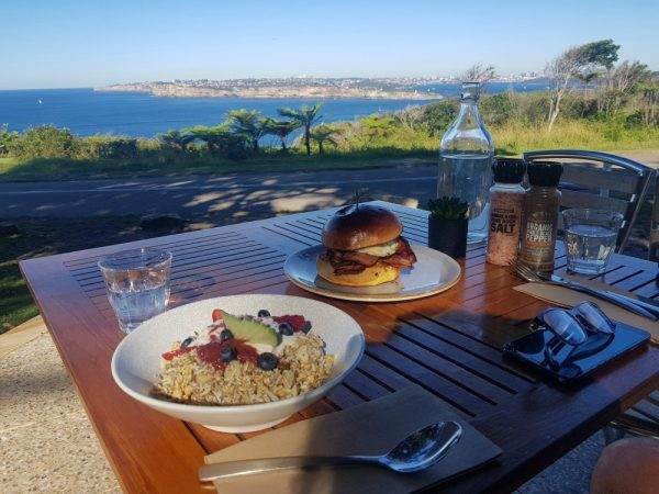 Breakfast at North Head Manly